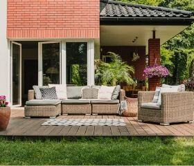 Backyard remodeling